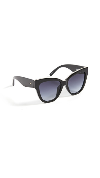 Le Specs Le Vacanze Sunglasses in black