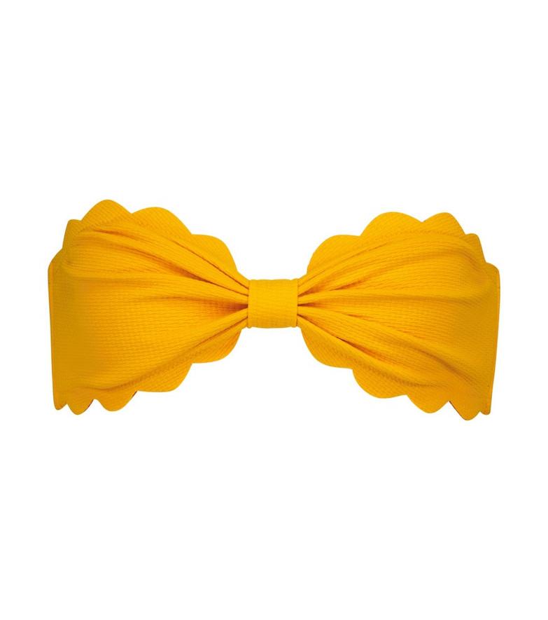 Marysia Antibes bikini top in orange