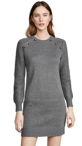 Rebecca Minkoff Janica Sweater Dress in grey