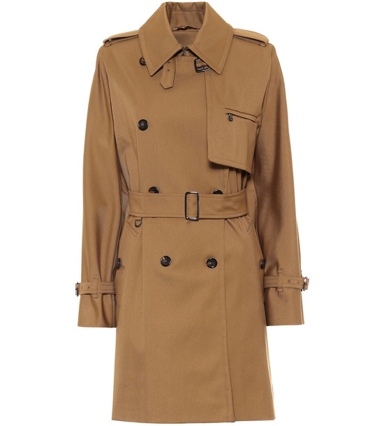 Max Mara Attuale cotton trench coat in beige