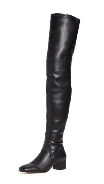 STAUD Aimee Boots in black