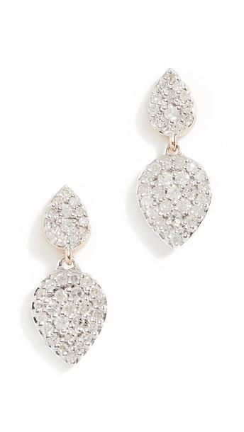 Adina Reyter 14k Double Teardrop Post Earrings in gold