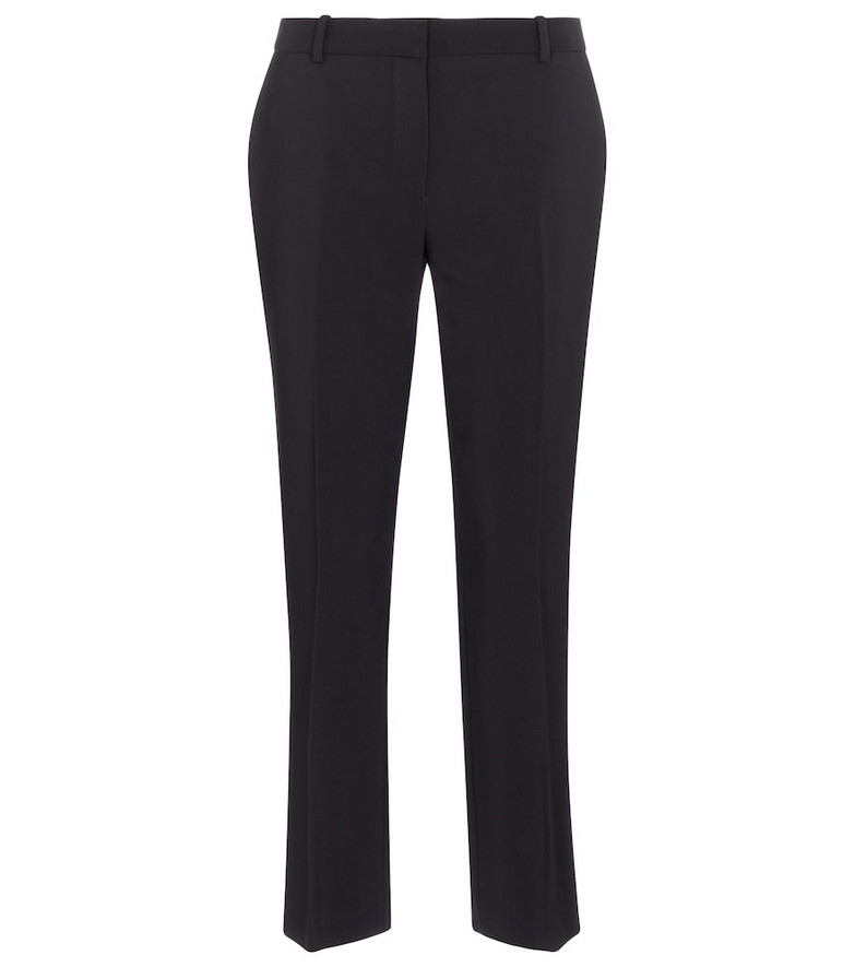 The Row Emm cropped straight pants in black