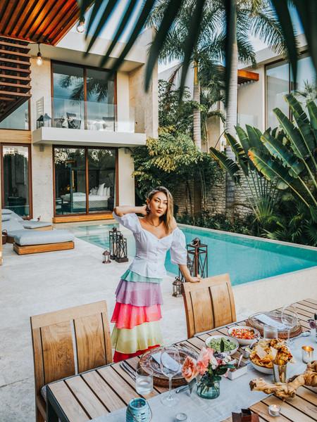 not jess fashion blogger top skirt jewels