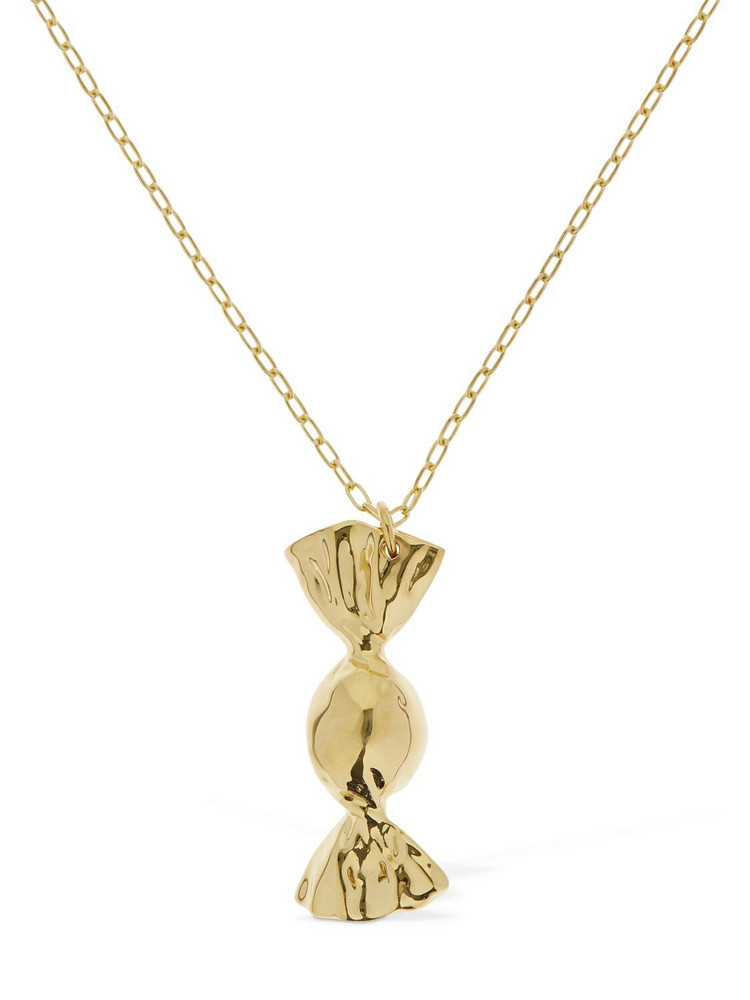 AMBUSH Candy Charm Long Necklace in gold