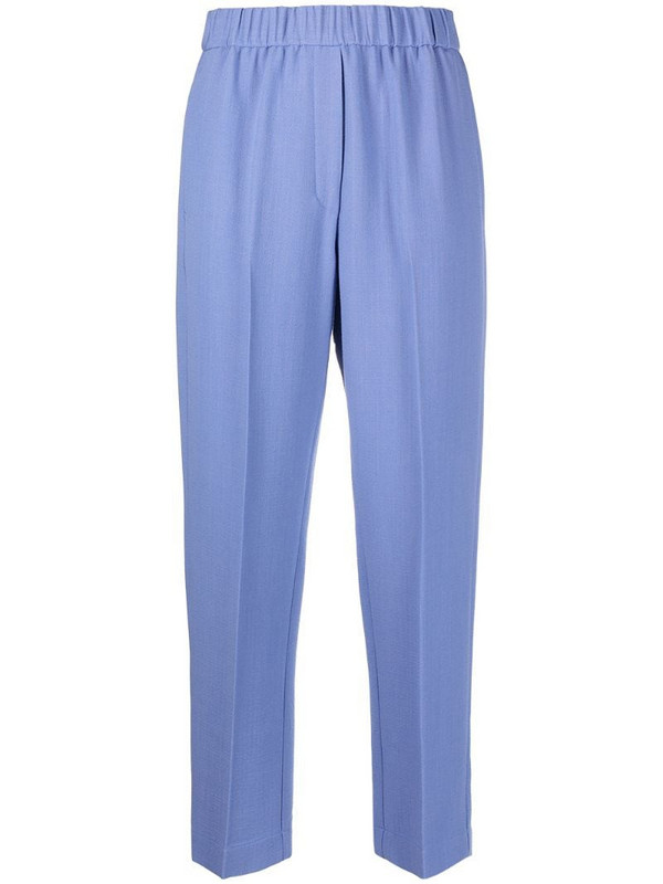 Forte Forte tapered trousers in blue
