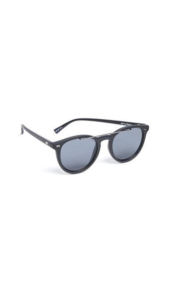 Le Specs Fire Starter Sunglasses in black