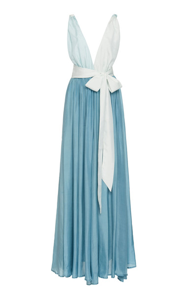 Kalita Adonis Maxi Dress in blue