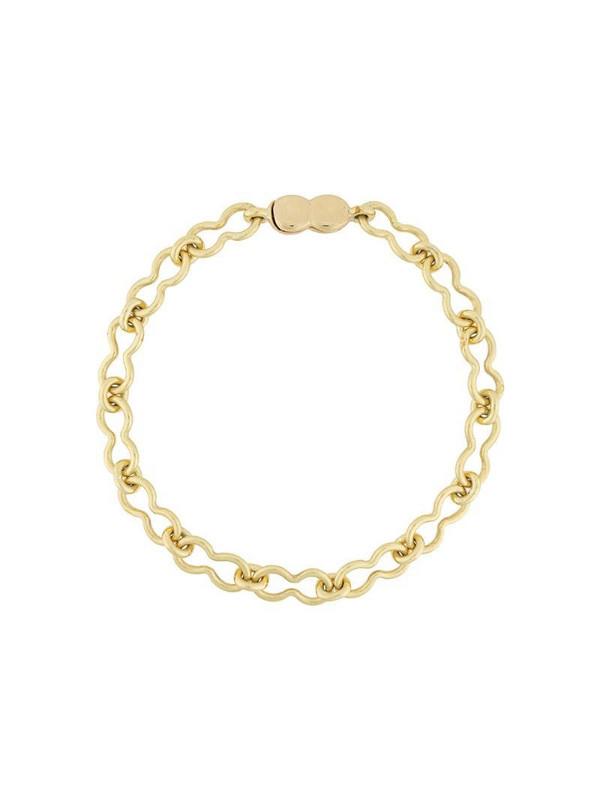 Ellery chain-link choker in gold