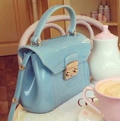 bag,jelly hand bag,jellies,blue,handbag