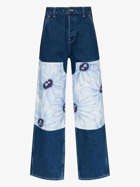 Jacquemus Le de Nîmes Fleurs jeans