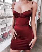 dress,bodycon dress,red dress,short dress,mini dress,cute dress