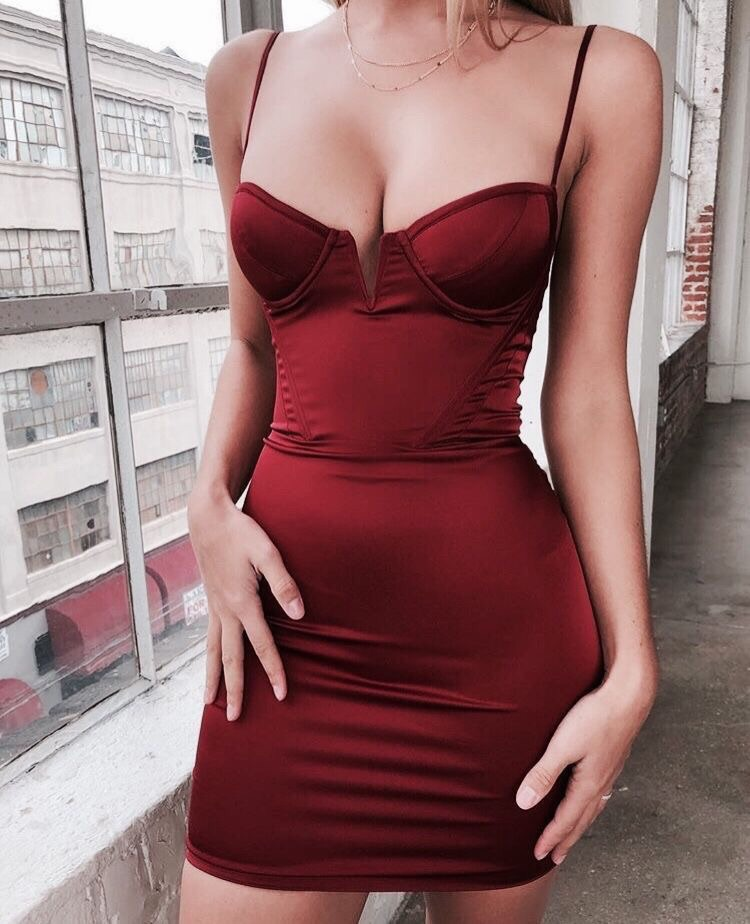 dress bodycon dress red dress short dress mini dress cute dress