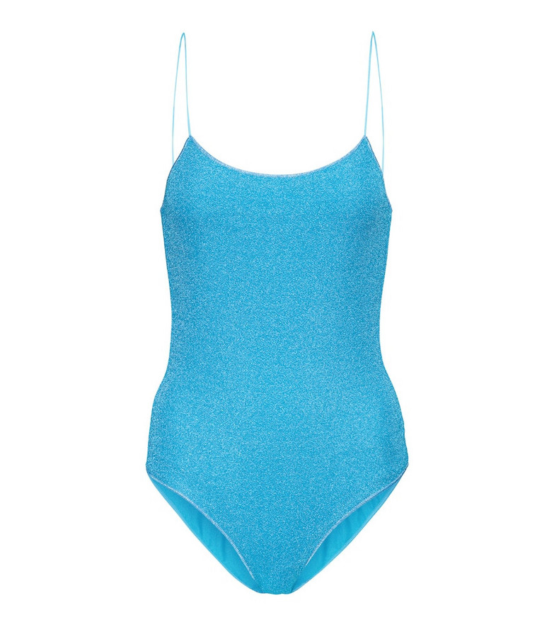 Oséree Exclusive to Mytheresa – Lumière swimsuit in blue