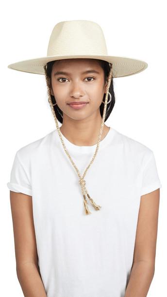 Rag & Bone Wide Brim Panama Hat in natural
