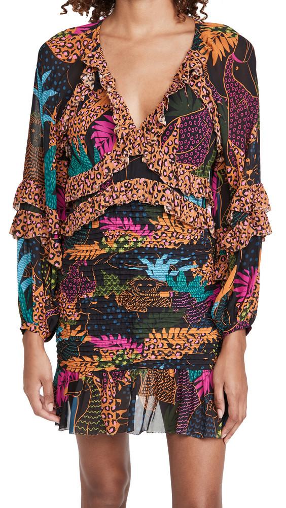 FARM Rio Jungle Pop Mini Dress in multi