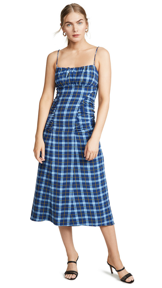 C/Meo Collective Define Dress in blue