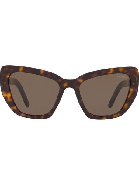 Prada Eyewear Postcard sunglasses in brown
