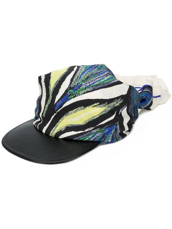 Salvatore Ferragamo abstract print bandana hat in neutrals