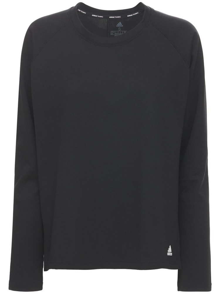 ADIDAS PERFORMANCE Dance Layering T-shirt in black