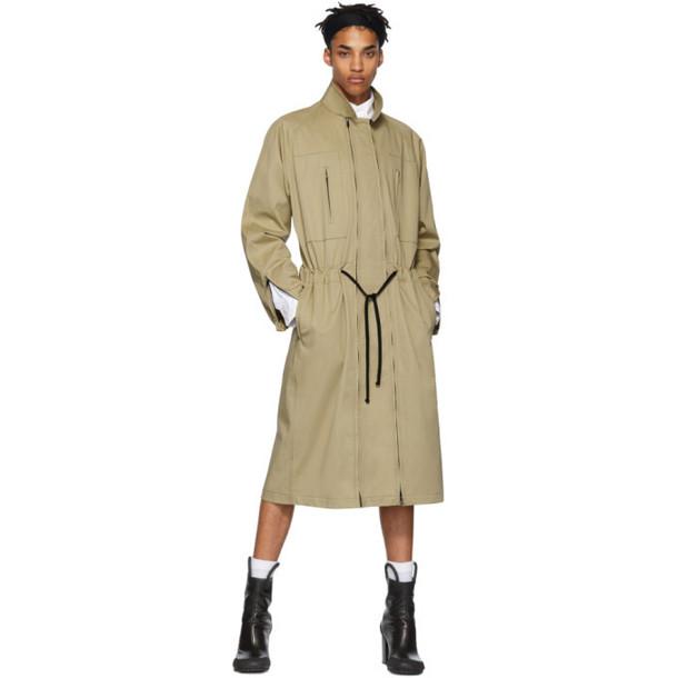 Random Identities Beige Versatile Dress Coat