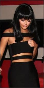 dress,strappy,mini black dress,bodycon dress,mini dress,straps,bandeau,cut-out,black dress