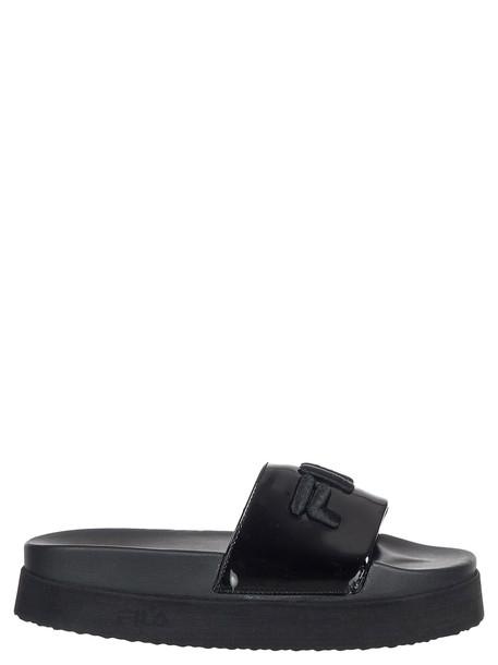 Fila Morro Toe Post Sandals in black