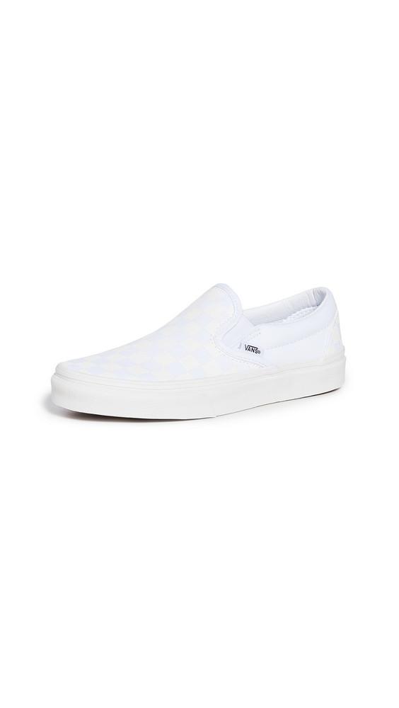 Vans UA Classic Slip On Sneakers in white