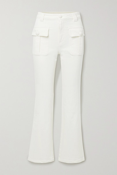 SEE BY CHLOÉ SEE BY CHLOÉ - High-rise Flared Jeans - White
