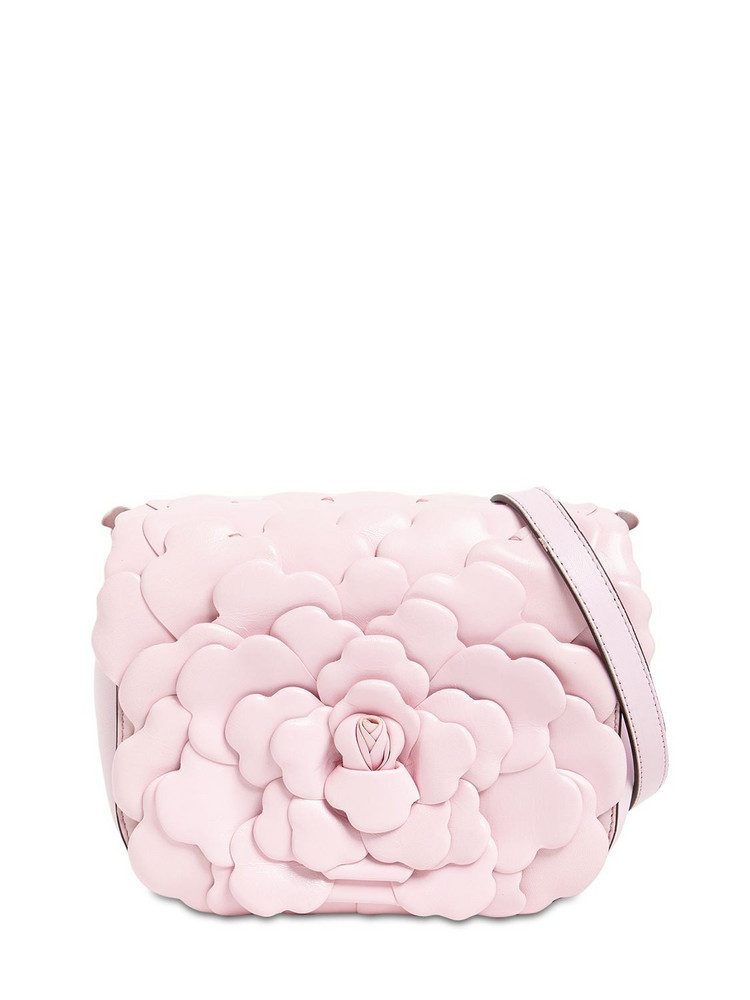 VALENTINO GARAVANI Atelier Petals Leather Shoulder Bag