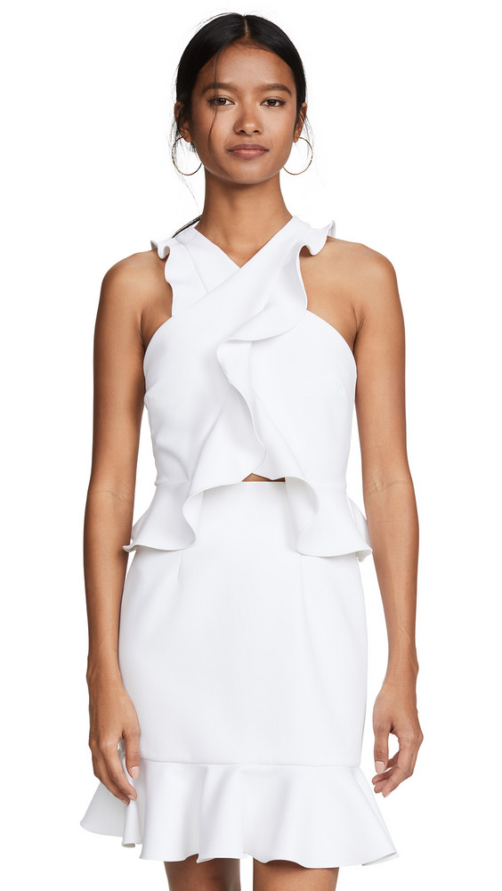Milly Cecile Dress in white