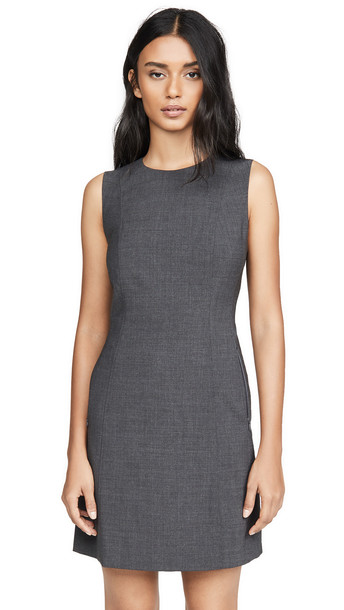 Theory Helaina Dress in charcoal
