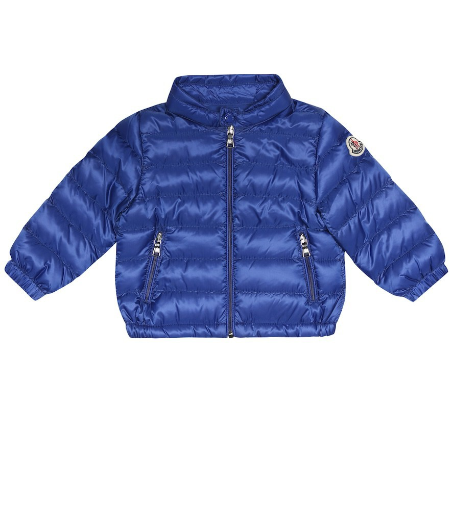 Moncler Enfant Baby Acorus down puffer coat in blue