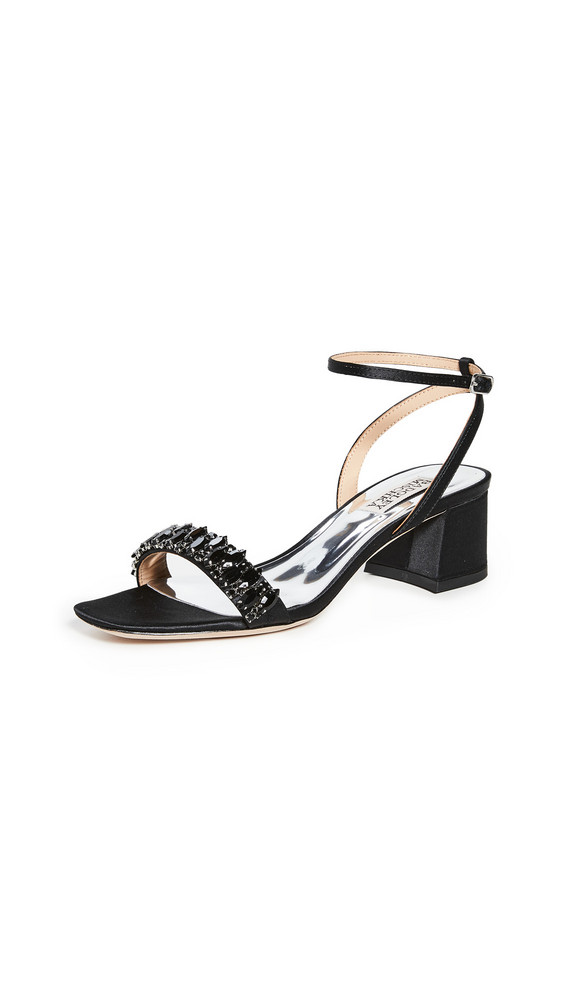 Badgley Mischka Harlow Ankle Strap Sandals in black