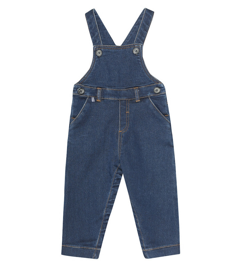 Tartine et Chocolat Baby denim overalls in blue