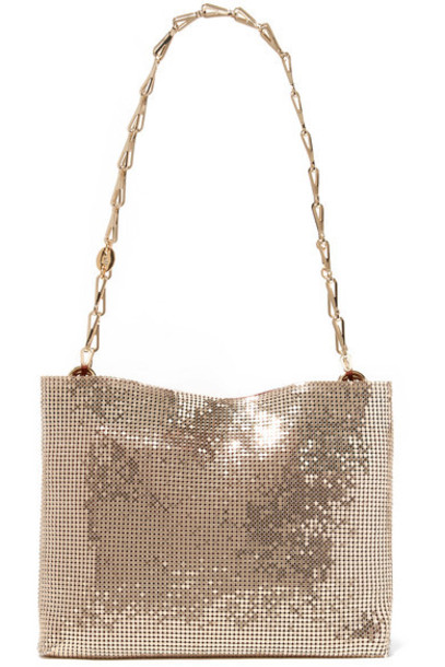 Paco Rabanne - Pixel 1969 Chainmail Shoulder Bag - Gold