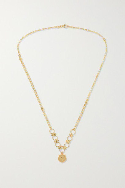Foundrae - Rooster 18-karat Gold Necklace