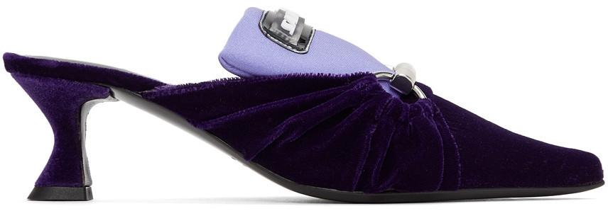 Ancuta Sarca V1 Kitten Heels in violet