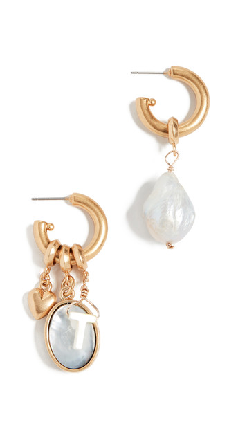 Brinker & Eliza Persona Hoop Earrings