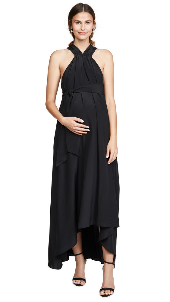 HATCH The Fete Maternity Gown in black