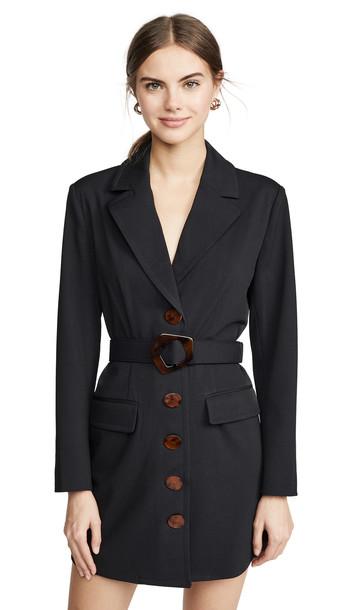 Nicholas Blazer Dress in black
