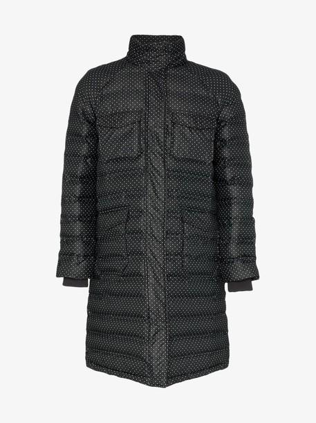Ganni padded Foxworth coat in black
