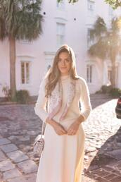 gal meets glam,blogger,sweater,skirt,scarf,bag