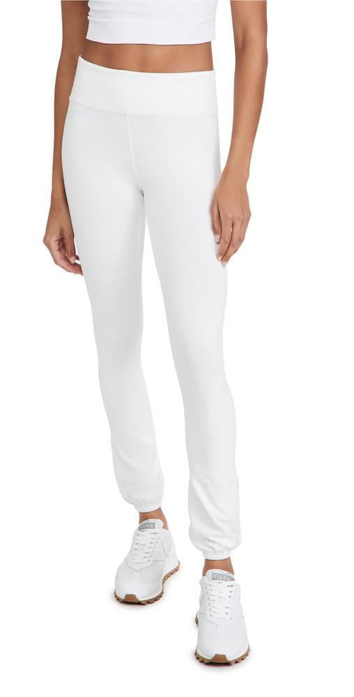 Splits59 Icon Mid Rise Sweatpants in white
