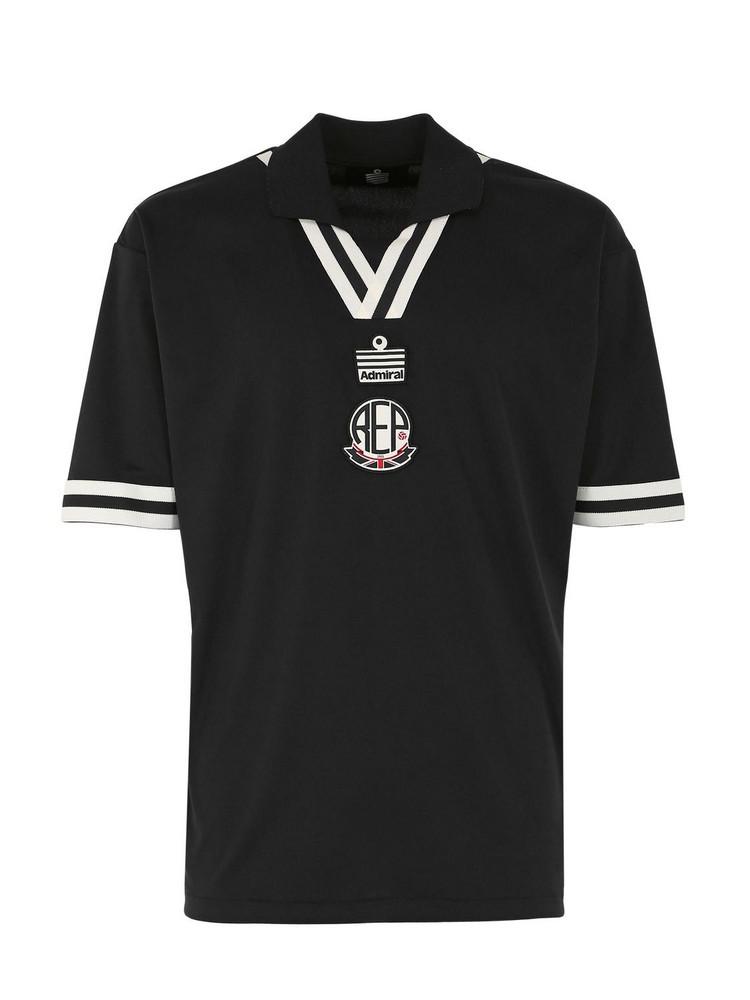 Represent X Admiral Techno T-shirt in black
