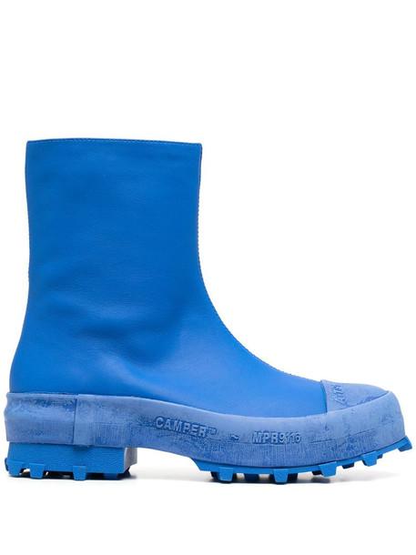 CamperLab Traktori rain boots in blue