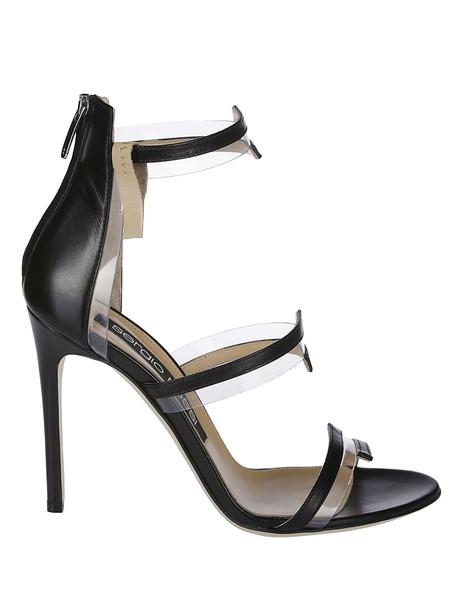 Sergio Rossi Strappy Sandals in black