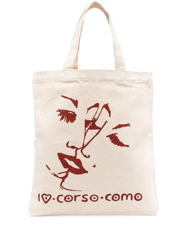 10 CORSO COMO logo print tote