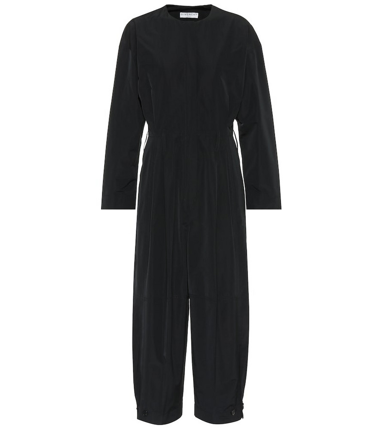Givenchy Taffeta jumpsuit in black
