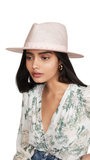 Eugenia Kim Blaine Hat in pink